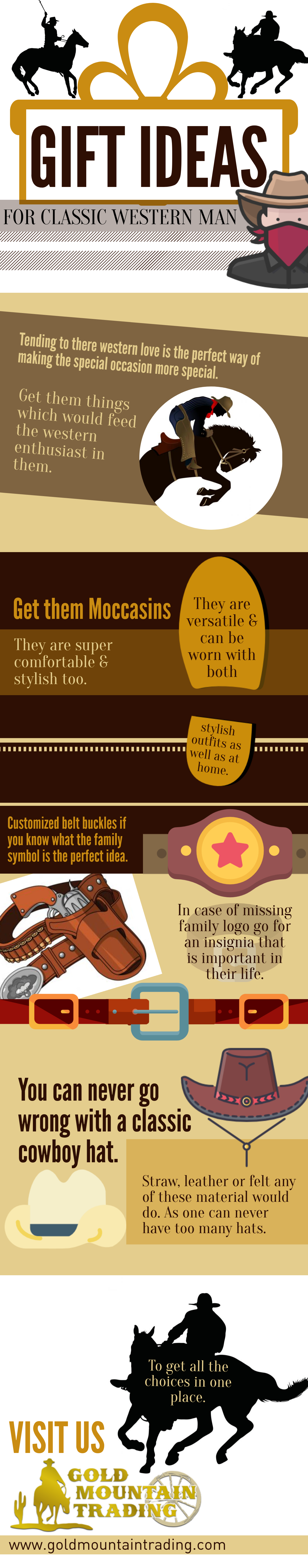 gift ideas infographic