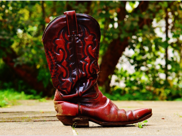 cowboy leather boot