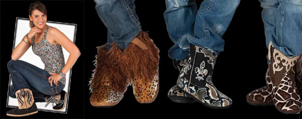 Cowboy Kickers™ Boot Slippers by Montana Silversmiths
